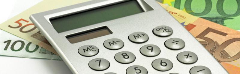 Taschenrechner Euro, Cassing Produktentwicklung, Marketing Köln